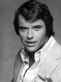 Robert Urich in White Polo With With Black and White Background Photo by  Movie Star News