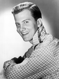 Pat Boone Posed in checkered Photo by  Movie Star News