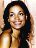 Rosario Dawson smiling Close Up Portrait Photo by  Movie Star News