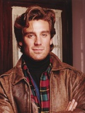 Pretender Cast Member Michael Weiss in Brown Leather Jacket Close Up Portrait Photo by  Movie Star News