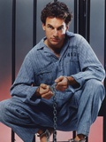 Mark Harmon Posed in Blue Prison Uniform Photo by  Movie Star News