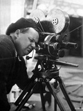 Roscoe Arbuckle Posed in Director Attire With Video Recorder Photo by  Movie Star News