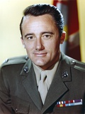 Robert Vaughn in Army Uniform Photo by  Movie Star News