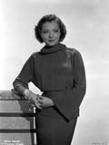 Sylvia Sidney wearing a Dress and Looking Sideways Photo by  Movie Star News