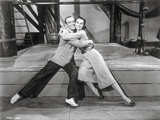 Silk Stockings Couple hugging Each Other in a Movie Scene Photo by  Movie Star News