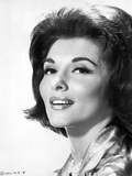 Nancy Kovack Portrait in Black and White Photo by  Movie Star News