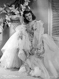 Mary Martin on a Lace and Embroidered Gown Portrait Photo av  Movie Star News