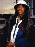 Rick James Close Up Portrait Photo af Movie Star News