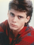 Portrait of Thomas Howell in Red Checkered Shirt Photo by  Movie Star News