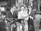 Suddenly Last Summer Man and Two Ladies Discussing Scene Excerpt from Film in Black and White Photo by  Movie Star News