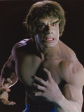 Lou Ferrigno Posed as Hulk with Black Background Photo by  Movie Star News