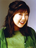 Margaret Cho Portrait in Blue Background Photo by  Movie Star News