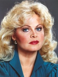 Sally Struthers Posed in Blue Dress Portrait Photo by  Movie Star News