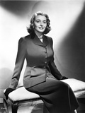 Patricia Neal Seated in Formal Attire Photo by  Movie Star News