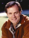 Stephen Collins smiling in Brown Leather Jacket Photo by  Movie Star News