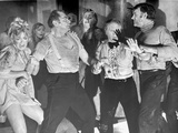 Poseidon Adventure Scene of People Arguing Excerpt from Film Black and White Photo by  Movie Star News