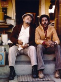Sanford & Son Siting on Couch Together Photo by  Movie Star News