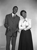 Pearl Bailey Couple Picture in Classic Photo by  Movie Star News