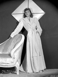 Mary Martin on a Long Sleeve Dress standing Portrait Photo by  Movie Star News