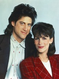 Richard Lewis with His Wife Photo by  Movie Star News