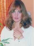 Pamela Sue Martin Portrait in White Shirt Photo by  Movie Star News