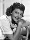 Mary Martin Leaning and smiling on a Chair Photo by  Movie Star News