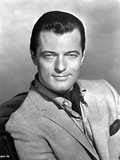Robert Goulet Posed in Black and White Photo by  Movie Star News