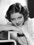 Sylvia Sidney Face on Hand Pose Photo by  Movie Star News