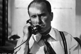 Robert Duvall Answering Phone in Detective Attire Photo by  Movie Star News