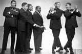 Gregory Hines in Black Suit Portrait of Cast Photo by  Movie Star News
