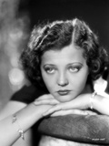 Sylvia Sidney Face Leaning on Hand Photo by  Movie Star News