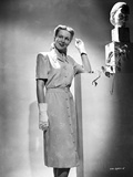 Virginia Mayo Posed in Dress with White Gloves Photo by  Movie Star News