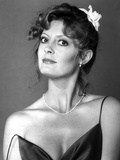 Susan Sarandon in a Black Dress with Necklace Photo by  Movie Star News