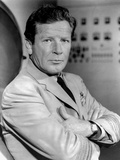 Richard Basehart Posed in Black Suit Photo by  Movie Star News