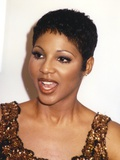 Toni Braxton Close Up Portrait wearing Brown Tank Top Photo by  Movie Star News