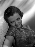 Sylvia Sidney wearing a Shining Blouse Photo by  Movie Star News