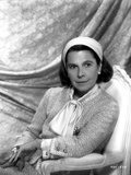 Ruth Gordon on a Long Sleeve Top sitting on a Chair Photo by  Movie Star News