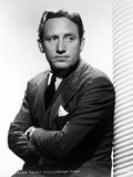 Spencer Tracy posed in Suit in Classic Portrait Photo by  Movie Star News