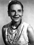 Ruth Gordon on a Pearl Necklace Portrait Photo by  Movie Star News