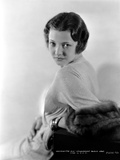 Sylvia Sidney Leaning in a Long Sleeve Dress Photo by  Movie Star News