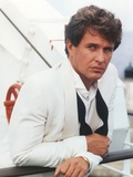 Tom Berenger in White Long Sleeves Portrait with Black Tie Photo by  Movie Star News