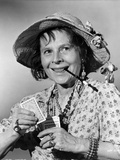Ruth Gordon on Printed Top with Playing Cards on Hand Photo by  Movie Star News