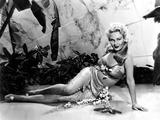Virginia Mayo Lying on the Floor Classic Portrait Photo by  Movie Star News