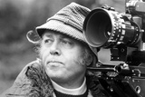 Richard Attenborough Candid Shot with Camera Photo by  Movie Star News