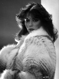 Rachel Ward Posed in Black and White Portrait wearing Fur Coat Photo by  Movie Star News