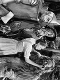 Wizard Of Oz Dorothy Wipes Coward Lion's Tears	 Photo by  Movie Star News