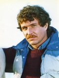 Tom Berenger wearing Blue Coat Close Up Portrait Photo by  Movie Star News