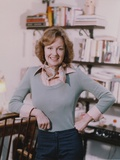 Shelley Fabares Posed in wearing Gray Sweater Photo by  Movie Star News