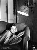Sylvia Sidney Lying on Couch While Writing Photo by  Movie Star News