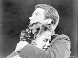 Splendor In The Grass hugging Couple in Black and White Photo by  Movie Star News